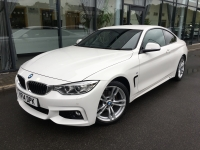 BMW 4 SERIES 2.0 420I M SPORT COUPE AUTOMATIC 14 14 £18975