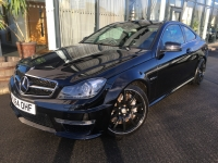 MERCEDES BENZ C CLASS 6.3 C63 AMG MCT 2DR COUPE 14 64 £29975