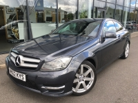 MERCEDES C CLASS C220 CDI BLUE EFFICIENCY AMG SPORT COUPE 7G-TRONIC 12 62 £11475