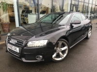 AUDI A5 2.0 TDI S LINE SPECIAL EDITION COUPE 10 60 £SOLD